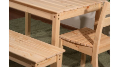 Скамья дачная №1 • Садовая мебель