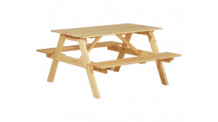 """Стол с лавками """"Пикник"""" 1400 • Садовая мебель"""