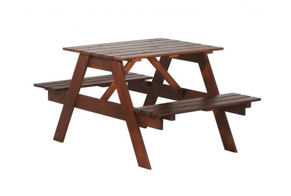 """Стол с лавками """"Пикник"""" 900 • Садовая мебель"""