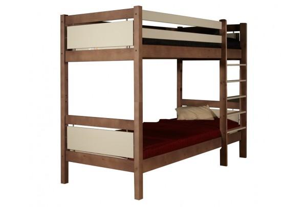 """Кровать """"Брамминг"""" двухъярусная  (бесцветный лак) • Кровати - Двухьярусные"""