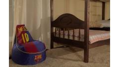 """Кровать """"Фрея-2"""" двухъярусная  (бесцветный лак) • Кровати - Двухьярусные"""