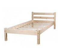 """Кровать """"Классик-1"""" детская (бесцветный лак)"""