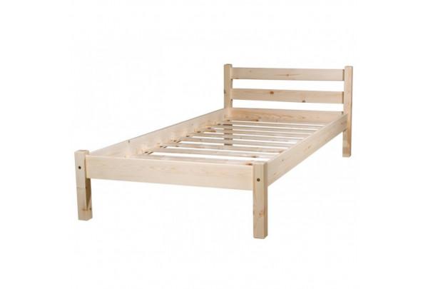 """Кровать """"Классик-1"""" детская (бесцветный лак) • Детские кровати"""