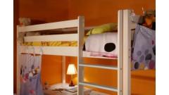 """Кровать """"Классик"""" №2 верхнеярусная (бесцветный лак) • Кровати - Двухьярусные"""