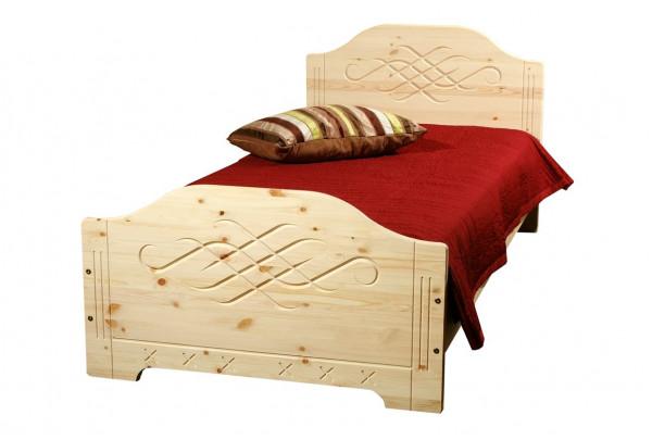 """Кровать """"Аури"""" детская (бесцветный лак) • Детские кровати"""