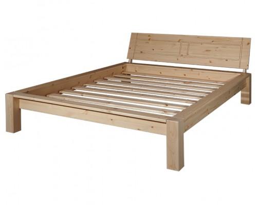 """Кровать """"Брамминг-2"""" (бесцветный лак)"""