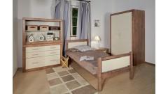 """Кровать """"Брамминг"""" детская (бесцветный лак) • Детские кровати"""