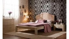 """Кровать """"Брамминг-4"""" мягкая (тонировка) • Кровати"""