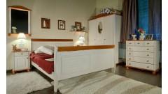 """Кровать """"Дания"""" (бесцветный лак) • Кровати"""