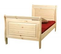 """Кровать """"Дания"""" детская (бесцветный лак)"""