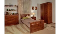 """Кровать """"Дания-1"""" детская (бесцветный лак) • Детские кровати"""