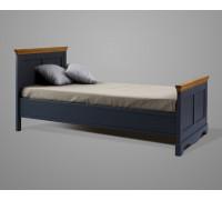 """Кровать """"Дания"""" №2 (бесцветный лак)"""