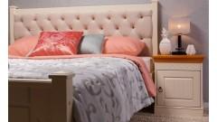 """Кровать """"Дания-1"""" мягкая, с ящиками (тонировка) • Кровати"""