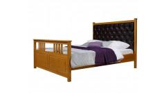 """Кровать """"Дания-2"""" мягкая (тонировка) • Кровати"""