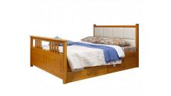 """Кровать """"Дания-3"""" мягкая (тонировка) • Кровати"""