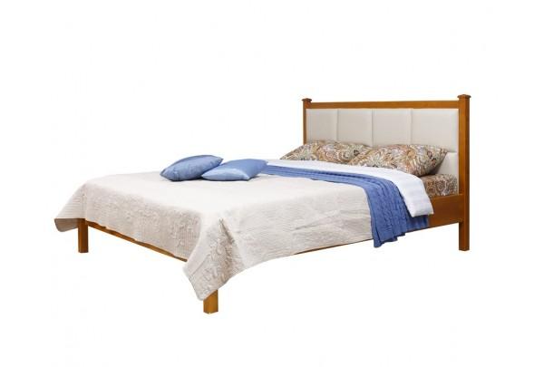 """Кровать """"Дания-1/1"""" мягкая (тонировка) • Кровати"""