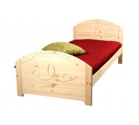 """Кровать """"Элина"""" детская (бесцветный лак)"""