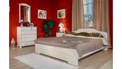 """Кровать """"Эрика"""" (бесцветный лак) • Кровати"""