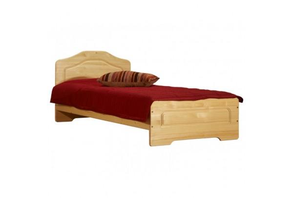 """Кровать """"Эрика"""" детская (бесцветный лак) • Детские кровати"""