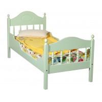 """Кровать """"Фрея-2"""" детская, с фигурными бортиками (тонировка)"""