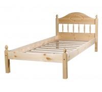 """Кровать """"Фрея-1"""" детская (бесцветный лак)"""