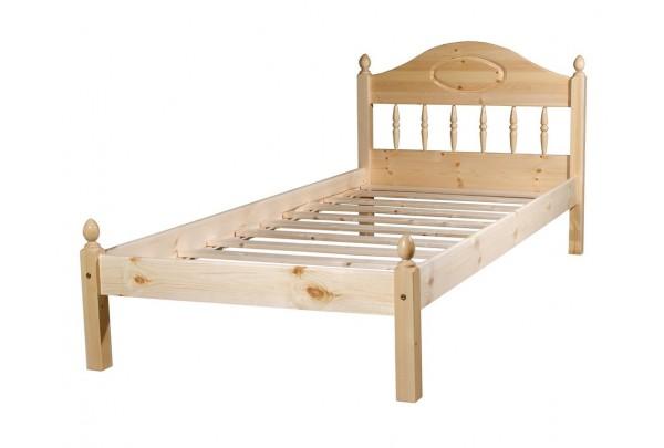"""Кровать """"Фрея-1"""" детская (бесцветный лак) • Детские кровати"""