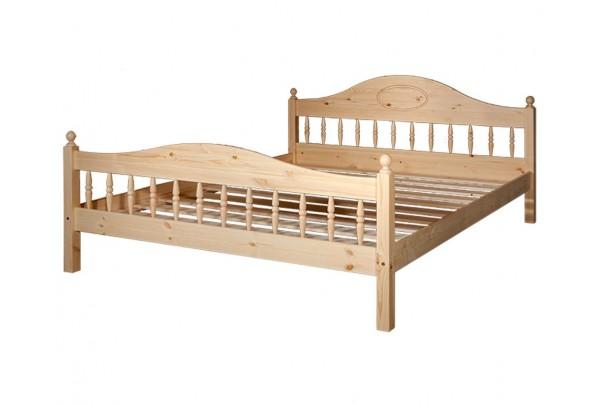 """Кровать """"Фрея-2"""" (бесцветный лак) • Кровати"""