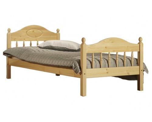 """Кровать """"Фрея-2"""" детская (бесцветный лак)"""