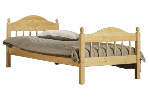 """Кровать """"Фрея-2"""" детская (бесцветный лак) • Детские кровати"""