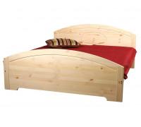 """Кровать """"Инга"""" (бесцветный лак)"""