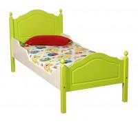 """Кровать """"Кая-2"""" детская, с фигурными бортиками (тонировка)"""