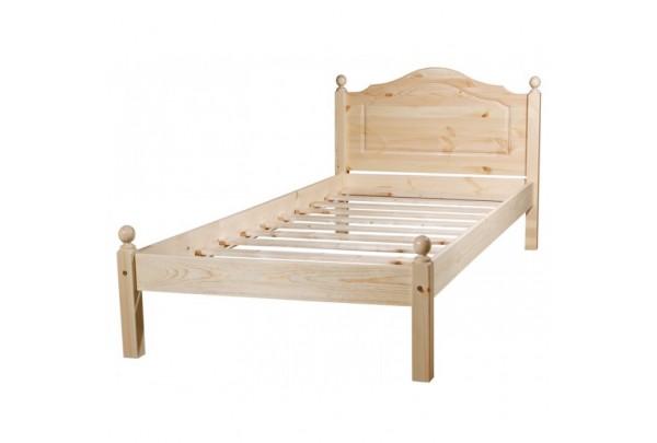 """Кровать """"Кая-1"""" детская (бесцветный лак) • Детские кровати"""