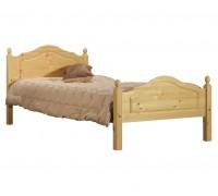 """Кровать """"Кая-2"""" детская (бесцветный лак)"""