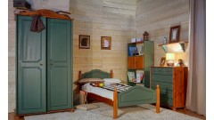 """Кровать """"Кая-2"""" (бесцветный лак) • Кровати"""