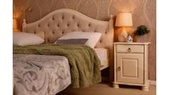 """Кровать """"Кая-2"""" мягкая (бесцветный лак) • Кровати"""
