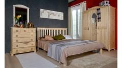 """Кровать """"Рина-1"""" (бесцветный лак) • Кровати"""