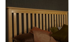 """Кровать """"Рина-2"""" (бесцветный лак) • Кровати"""