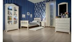 """Кровать """"Рина-2"""" детская (бесцветный лак) • Детские кровати"""