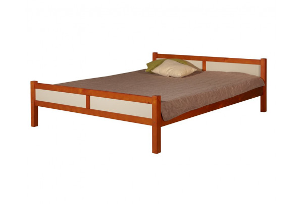 """Кровать """"Сона"""" (бесцветный лак) • Кровати"""