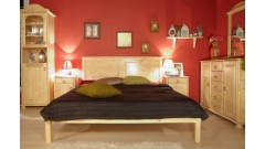 """Кровать """"Тора-1"""" (бесцветный лак) • Кровати"""