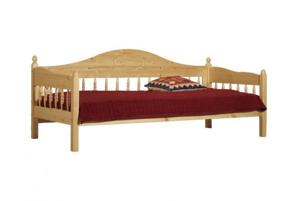 """Тахта """"Фрея""""  детская (бесцветный лак) • Детские кровати"""