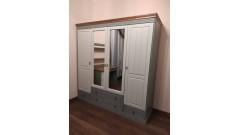 Шкаф Дания 4-створчатый • Мебель «ДАНИЯ»