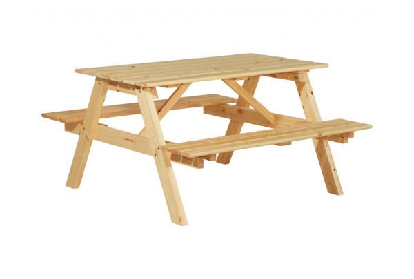 Стол с лавками Пикник 1400 • Садовая мебель