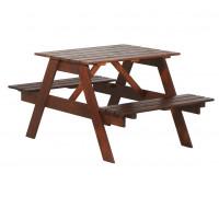 Стол с лавками Пикник 900