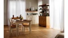 Комод Дания № 8 + Стеллаж Дания металл № 4 • Мебель «ДАНИЯ»