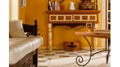 Комод Валенсия 2-75 с кованой граверсой • Мебель «ВАЛЕНСИЯ»