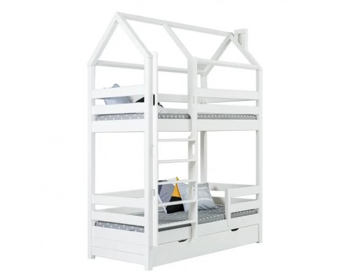 Кровать-домик двухъярусная Тимберика Кидс № 17