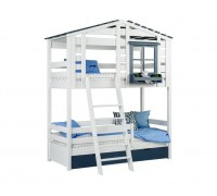 Кровать-домик двухъярусная Тимберика Кидс № 20