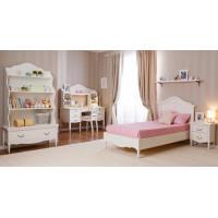Кровать детская Айно № 2 с ортопедическим матрасом Элли