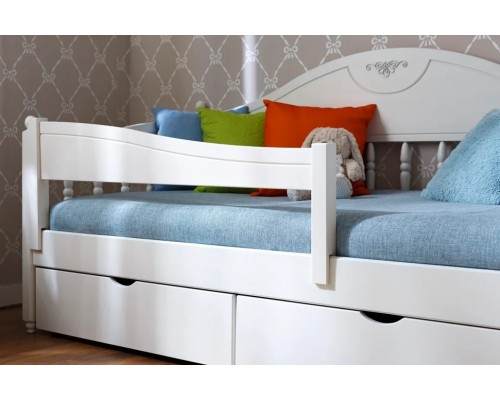 Бортик для кровати изогнутый